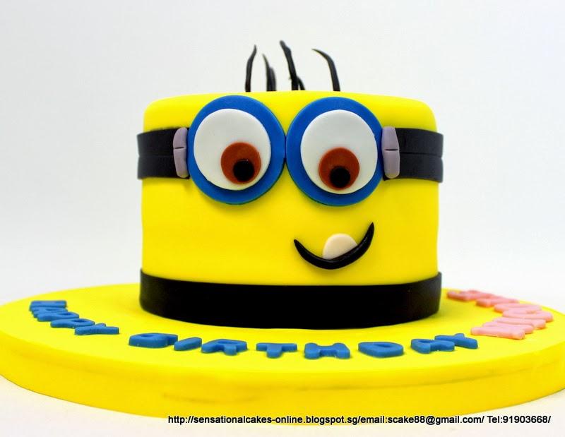 Minion Birthday Cake Singapore