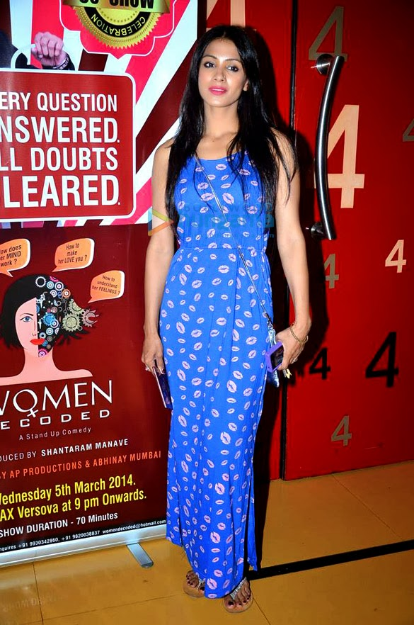 Actress Mugdha Godse at Women Decoded's 50th show