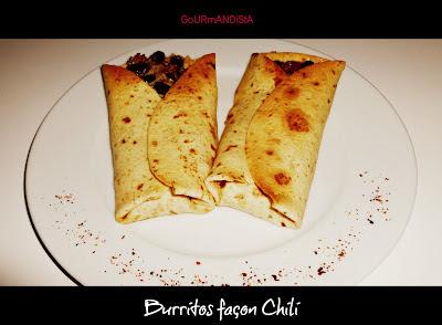 IMage Burritos façon Chili