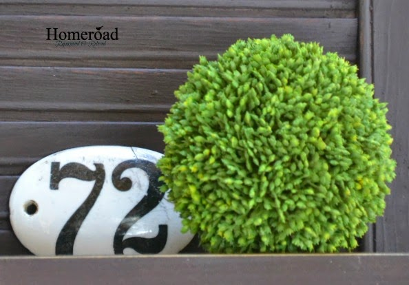 DIY Spring Topiary Trees www.homeroad.net