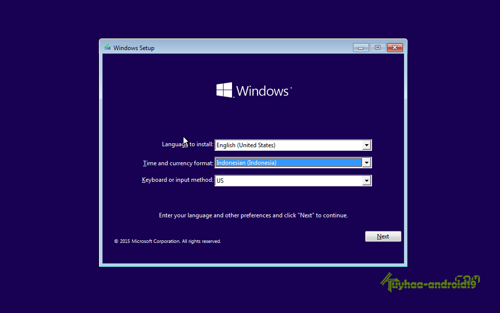 Cara Install Windows 10 Lengkap - SALIM BLOG