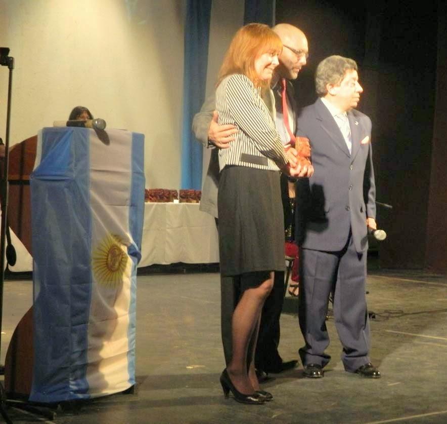 Premio Raices 2013 - Pablo Duarte y Maite Paladini