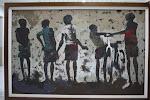 Geofrey Phiri, a Zambian painter