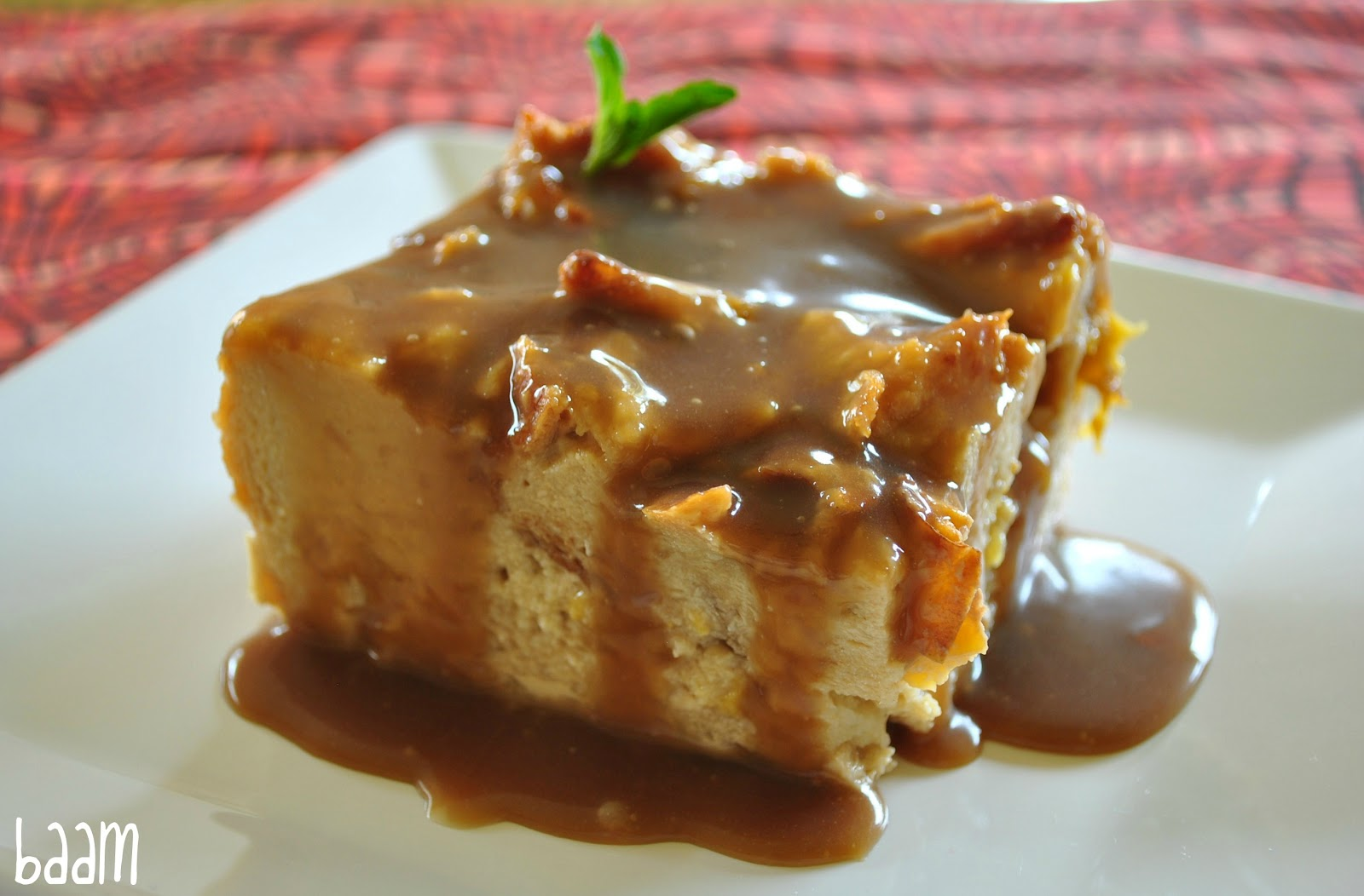 Beti Vanilla: Peach and Bourbon Bread Pudding