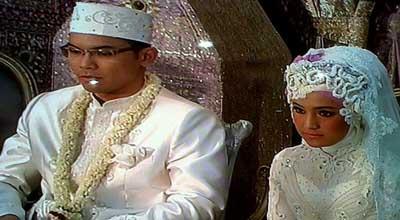 Resepsi Pernikahan Marshanda dan Ben Kasyafani
