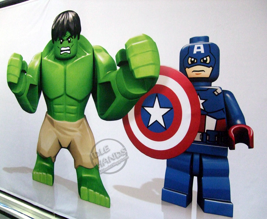 Toy fair 2012 lego marvel super heroes