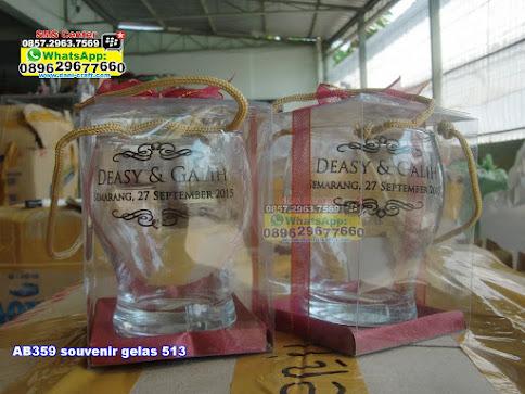souvenir gelas 513 murah