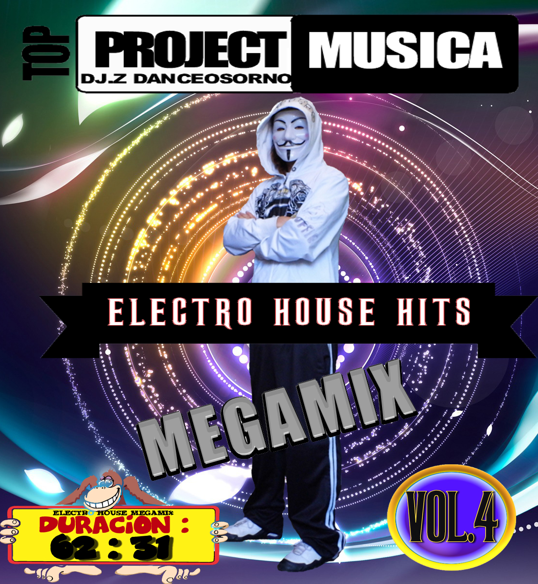 MEGAMIX ELECTRO HOUSE HITS VOL.4