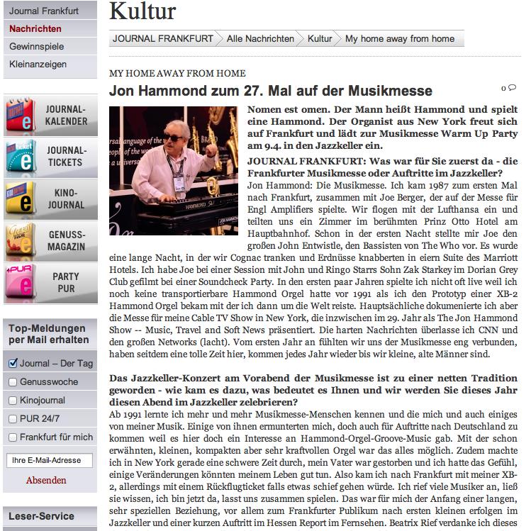 kultur journal frankfurt my home away from home jon hammond cnn ireport. Black Bedroom Furniture Sets. Home Design Ideas
