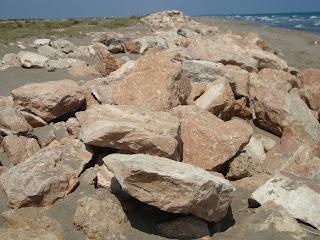 Rocks on the Beach - Punta de La Banya