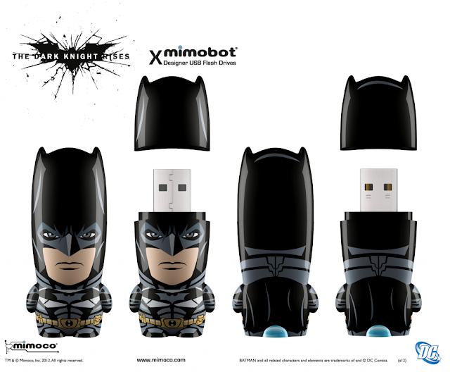 Batman The Dark Knight Rises Edition DC Comics Mimobot by Mimoco