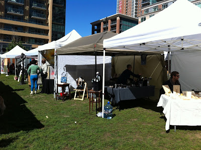 liberty village, liberty village art crawl, toronto art crawl, malinda prudhomme, linear park, jefferson avenue art show, portrait artist, eye artist, original artwork, beauty art, outdoor art show toronto