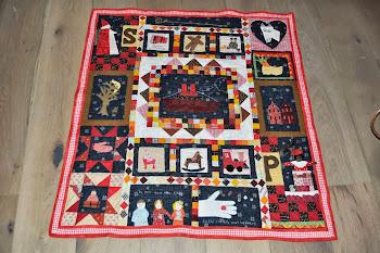 Sinterklaas quilt