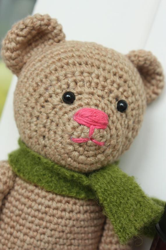 Free Easy Crochet Teddy Bear Patterns : HAPPYAMIGURUMI: Amigurumi Teddy Bear pdf Pattern is ready