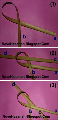 Cara Membuat Kepiting dari Daun Kelapa (Janur) 1