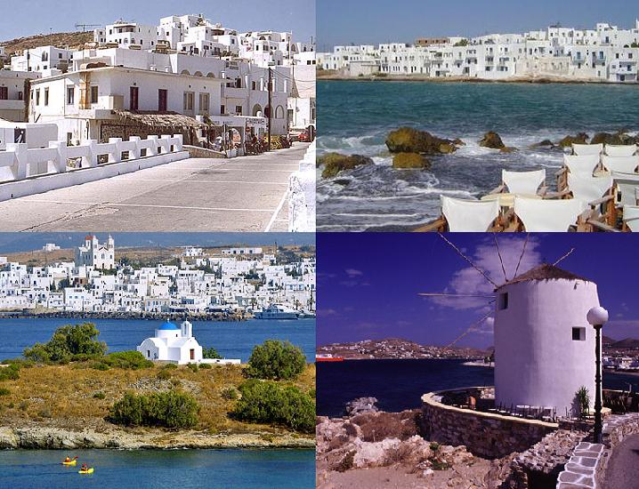 Paros island beaches, Cyclades, Greece
