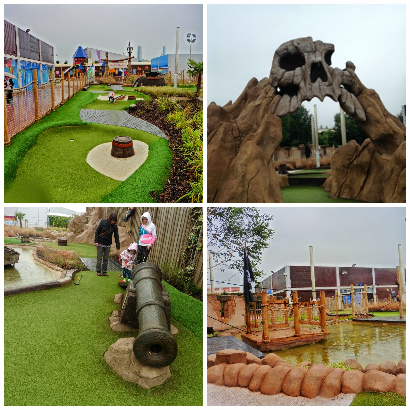 Pirate theme golf at Castleford