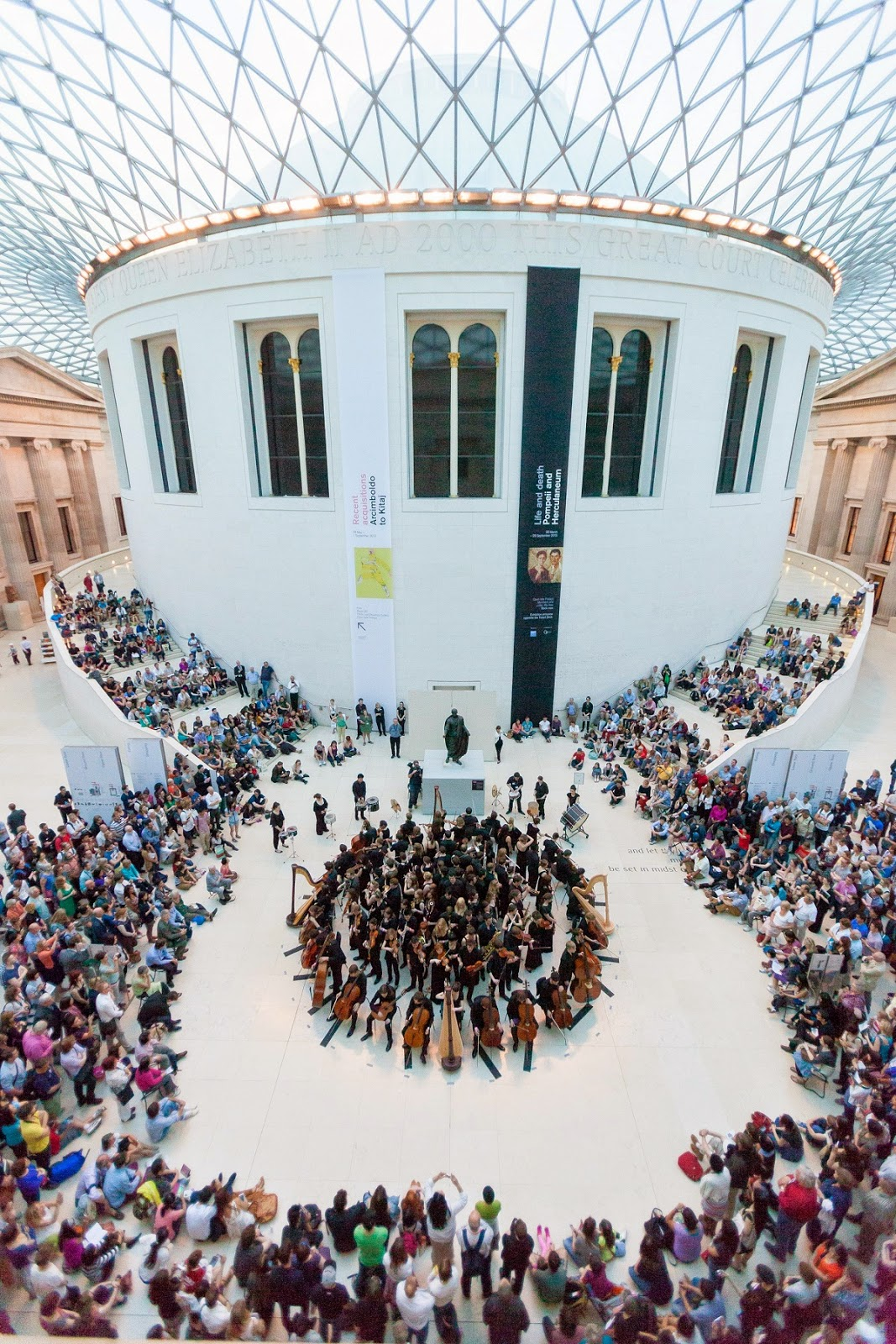 RNCM at the British Museum in 2013 credit Benedict Johnson