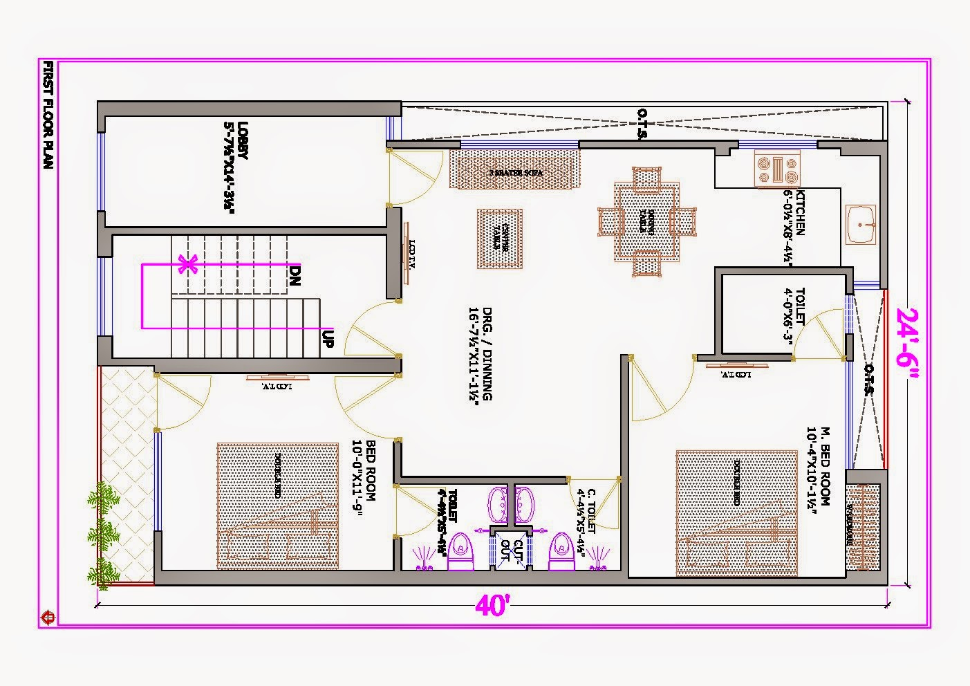 Ghar planner leading house plan and house design Individual house plans