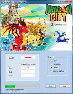 Dragon City Facebook Game Hack Tool 5.8v