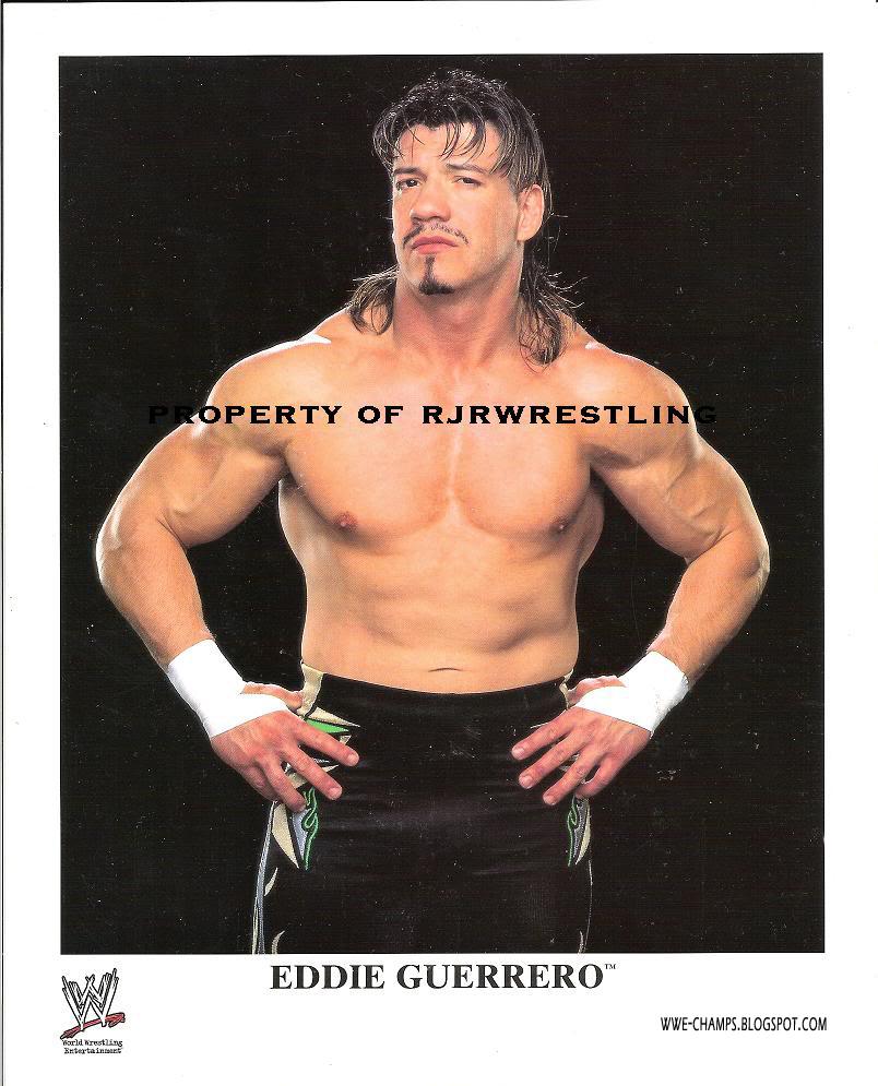 WWE CHAMPS: 'LATINO HEAT' THE LEGEND EDDIE GUERRERO