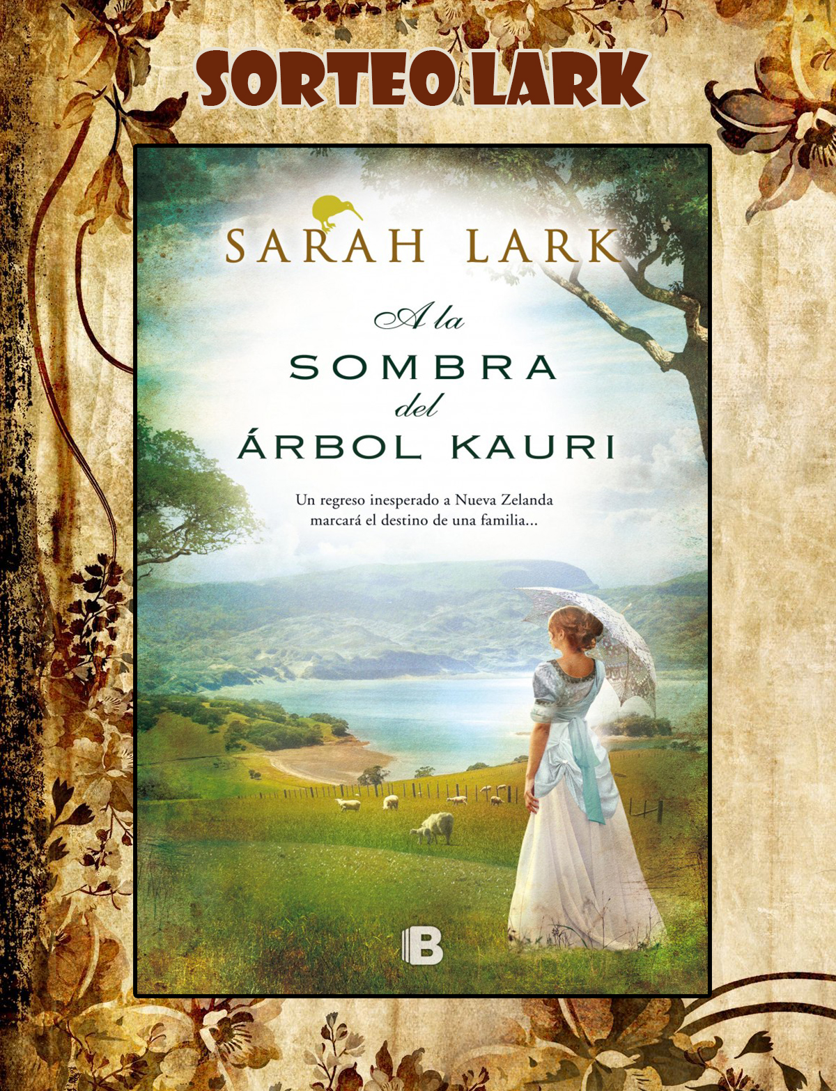 Sorteo Kauri Sarah Lark