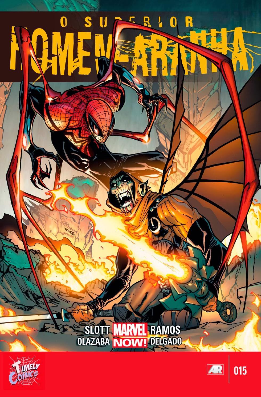 Nova Marvel! O Superior Homem-Aranha #15