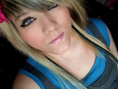 blonde hair extension styles. EMO Hair Styles wallpaper