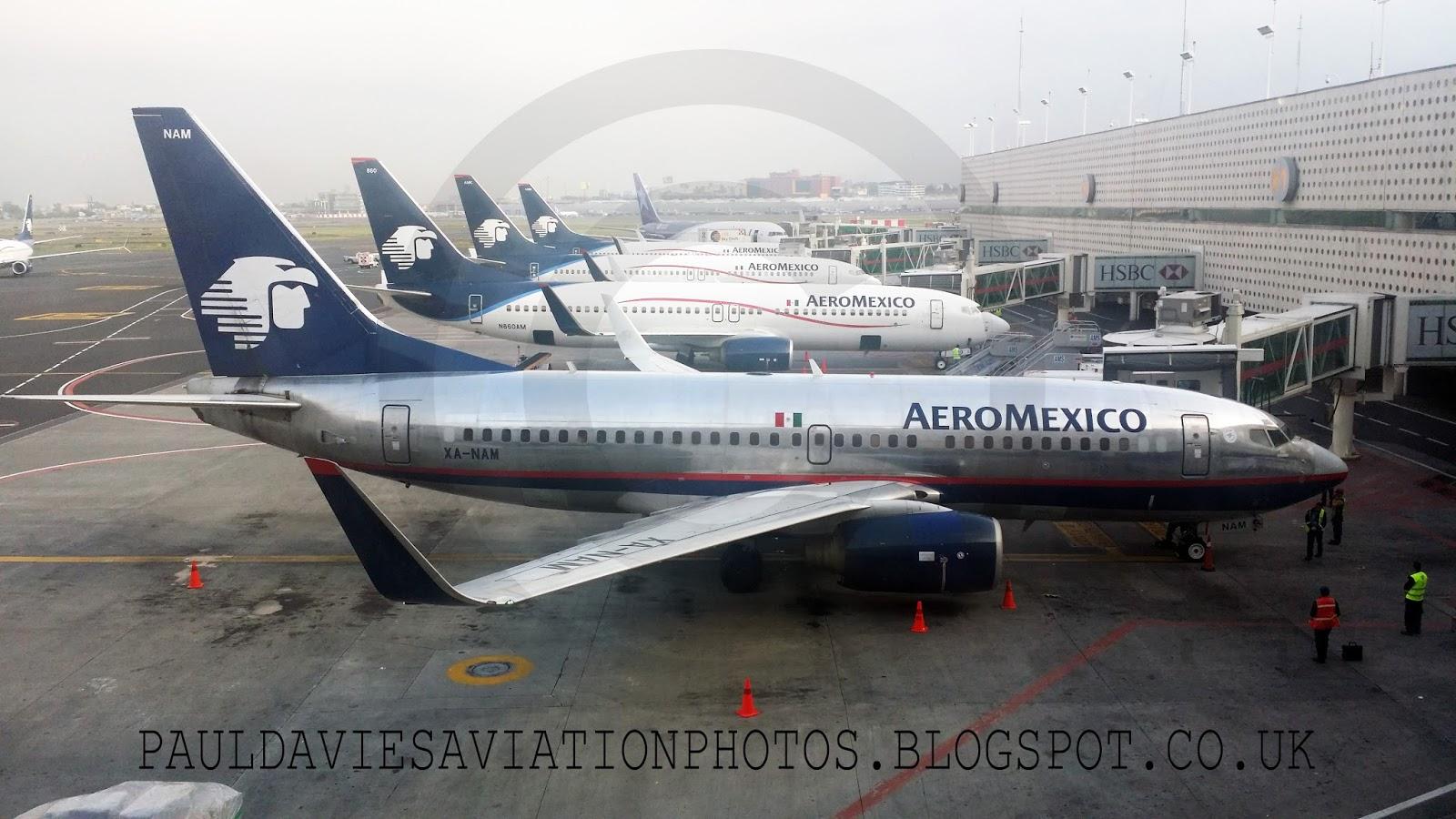 Aeroméxico Boeing 737 752 XA NAM at Miami International