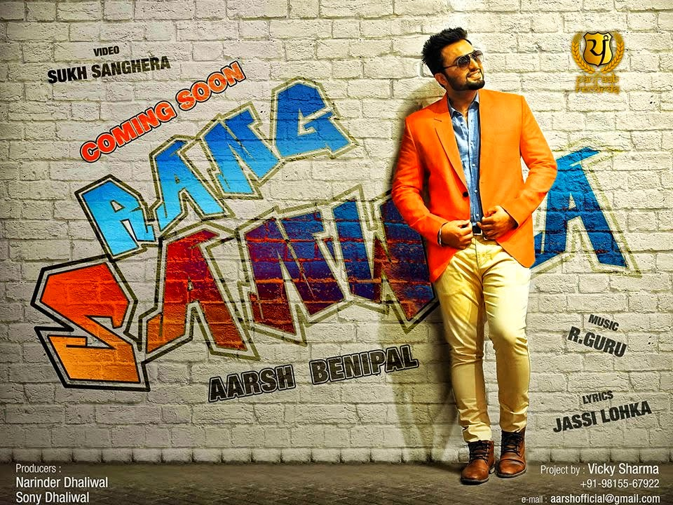 rang sanwla lyrics and hd video  arsh benipal