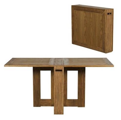 Mesa con alas para espacios peque os ideas decoraci n ig for Mesas ordenador para espacios pequenos