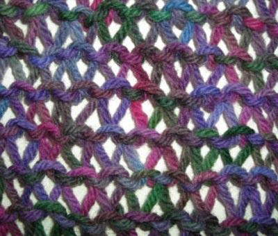 StitchST: Condo Stitch Scarf Knitting Pattern