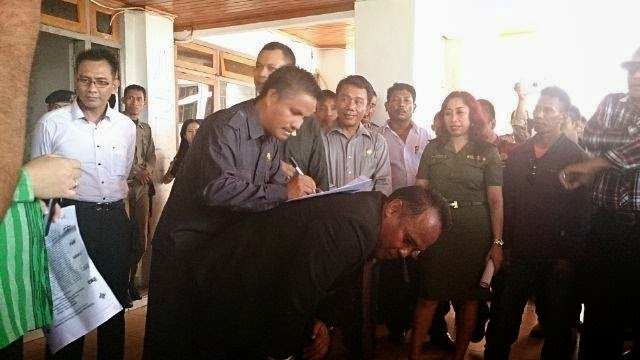 DPRD Sultra Dukung Aksi Unjukrasa Ribuan Karyawan Hotel