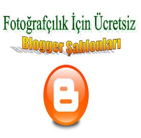 Fotoğrafçılık Ücretsiz Blogger Şablonları