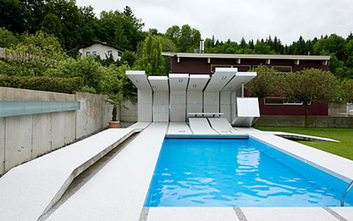 Home quotes modern pool design ideas a minimalist and modern for Interior pool house designs