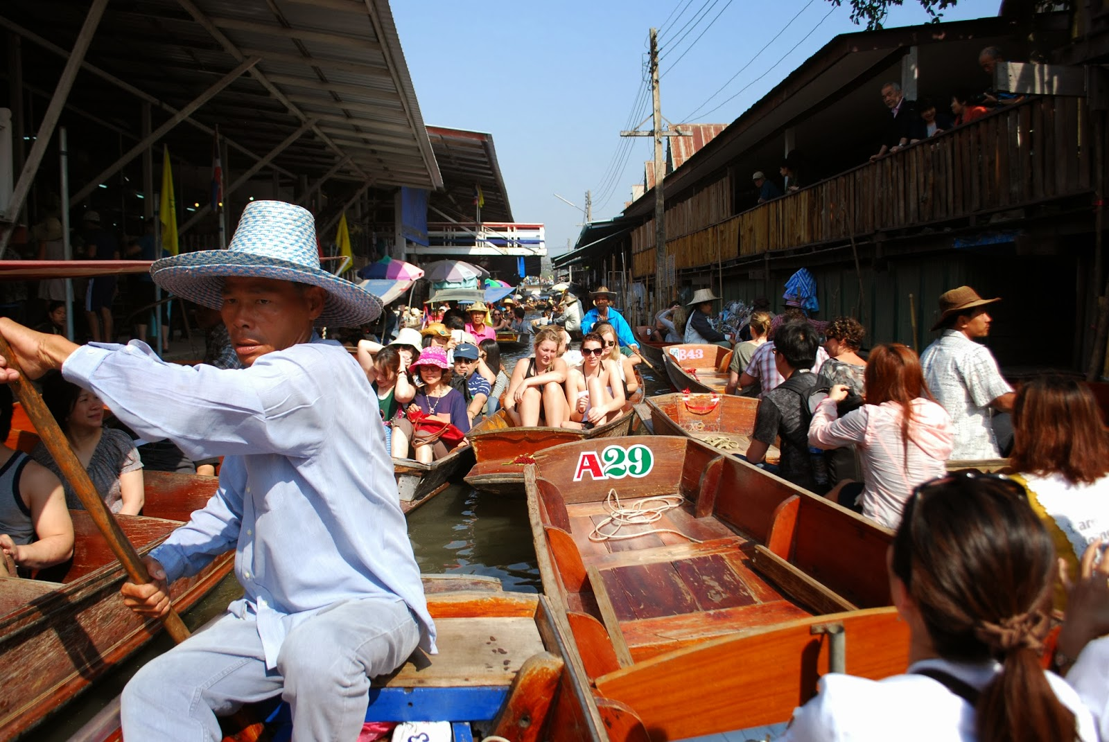 Cruise Tour to Floating Market Tours