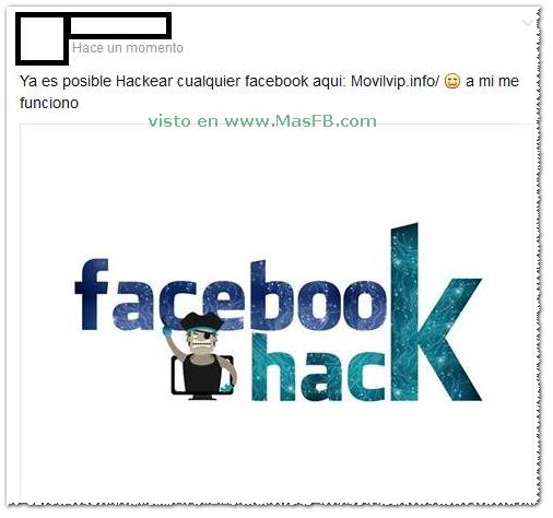Ya es posible Hackear cualquier Facebook + MasFB