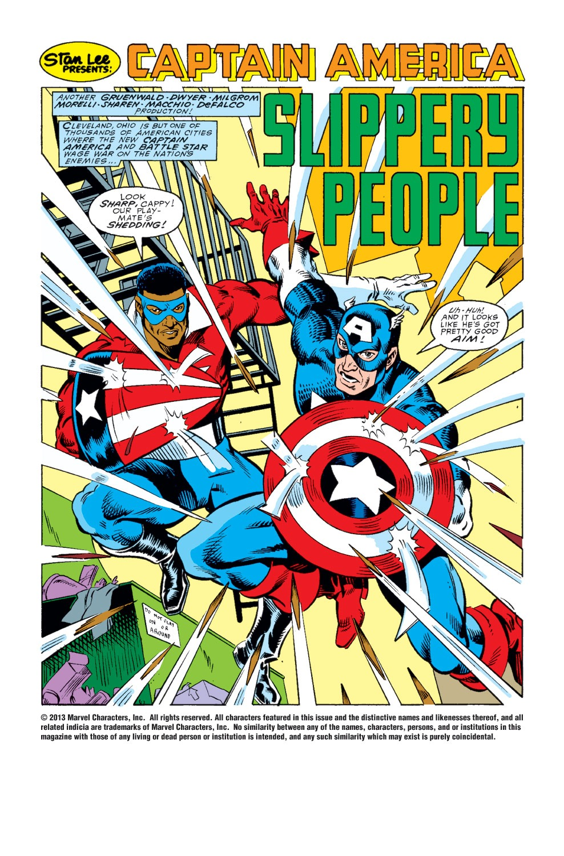 Captain America (1968) Issue #343 #273 - English 2