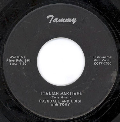 Pasquale and Luigi with Tony - Italian Martians