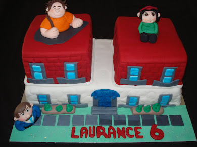 Wreck it Ralph Cake