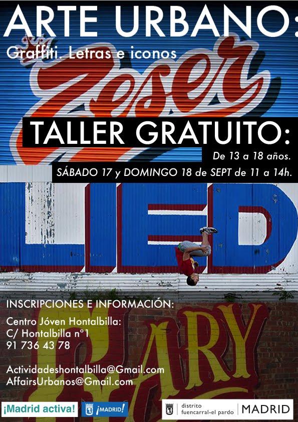 17 y 18 Septiembre Arte Urbano