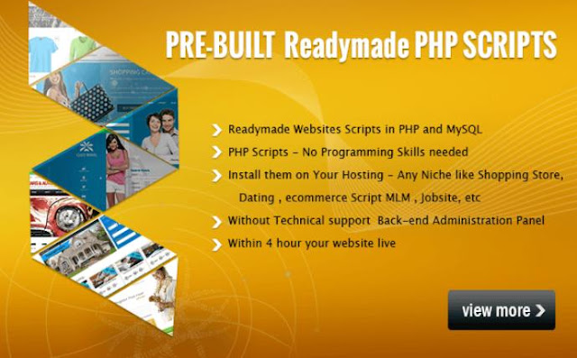 php scripts, readymade script