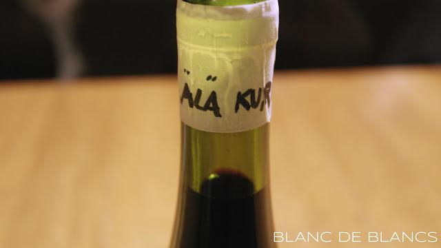 Älä kurki -pullo - www.blancdeblancs.fi