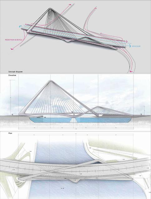 Shizimen Bridge Zhuhai China