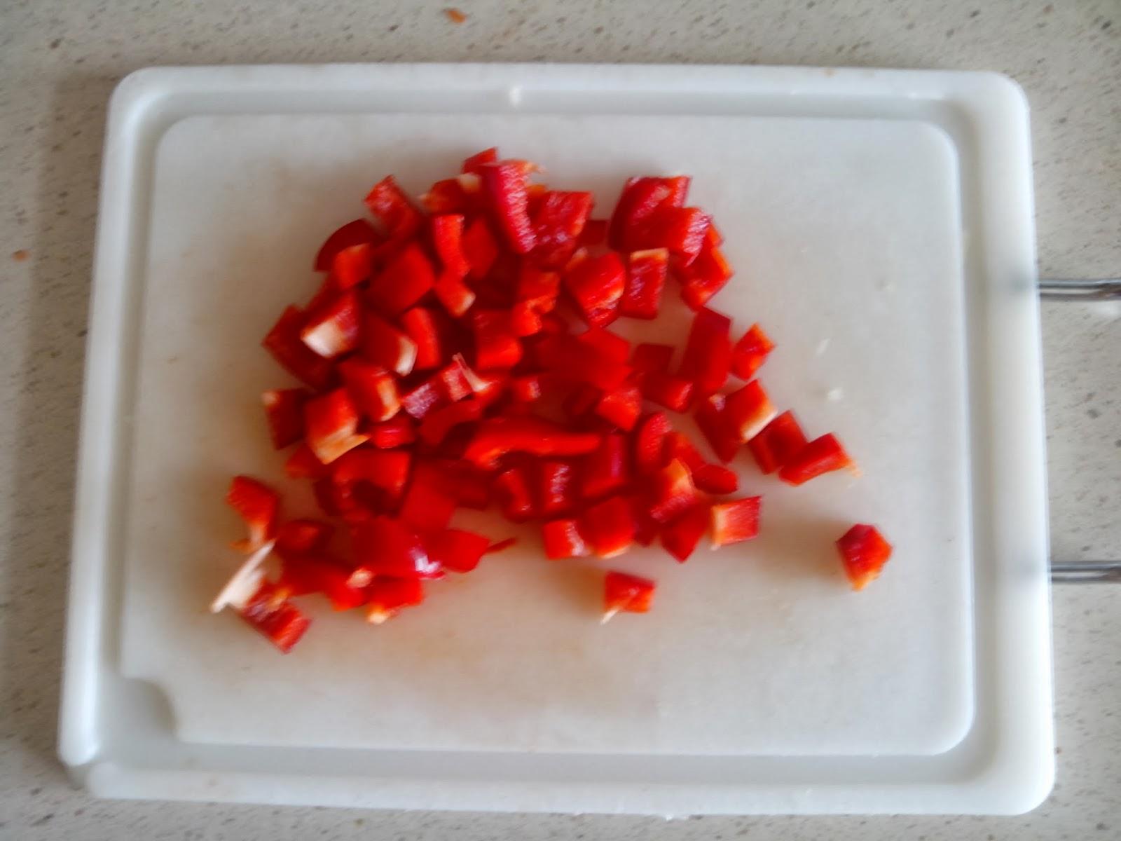 pimiento rojo troceado