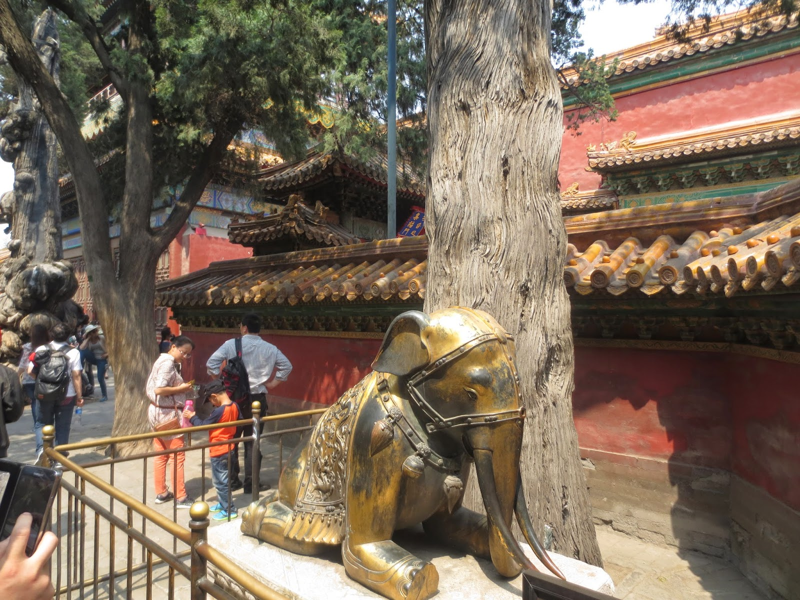Forbidden City Elephant Statue