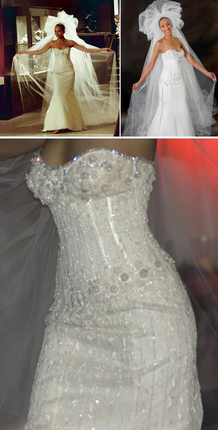 967ba157e Acredite, esses números simplesmente definem o vestido de noiva mais caro  do mundo! Mas será que vale tudo isso mesmo?