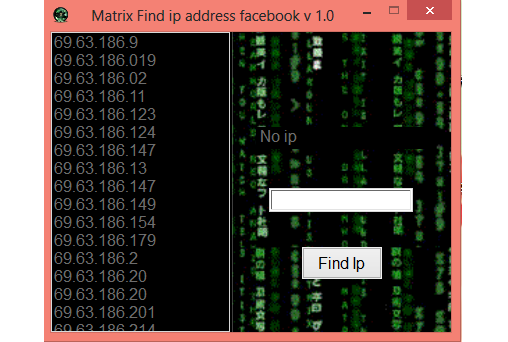 how to find someones ip address facebook