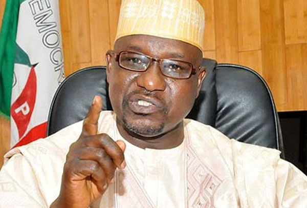 Drama As Gulak Declares Himself PDP National Chairman In Abuja