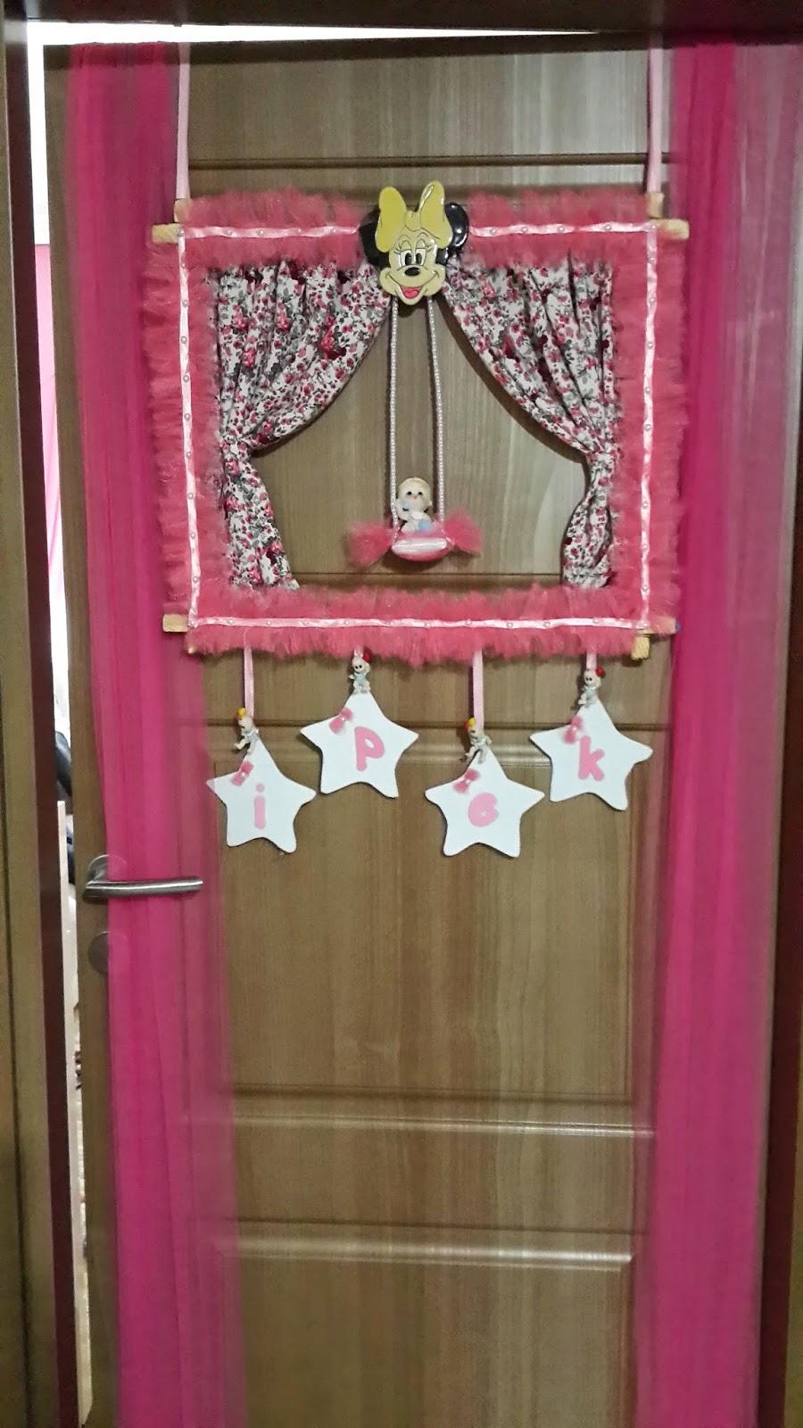 Fon Kartonundan Yapraklı Kapı Perdesi Yapımı